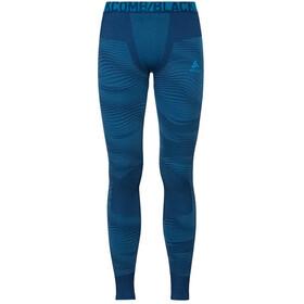 Odlo Suw Performance Blackcomb Bottom Pants Men poseidon-blue jewel-atomic blue